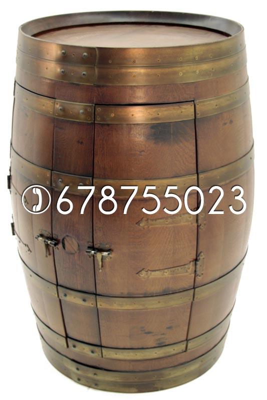 barrica botellero, barribar, barril bar, tonel botellero, tonel minibar, reciclar barrica.