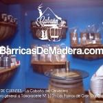 barricas decoración, barricas cerveza.