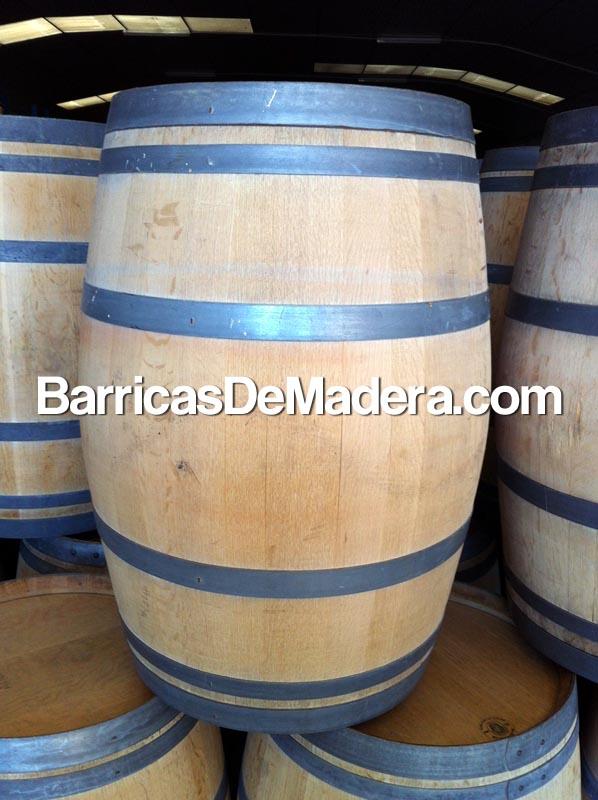 Barricas toneles cubas barriles de madera usadas de 225 for Barriles de madera bar