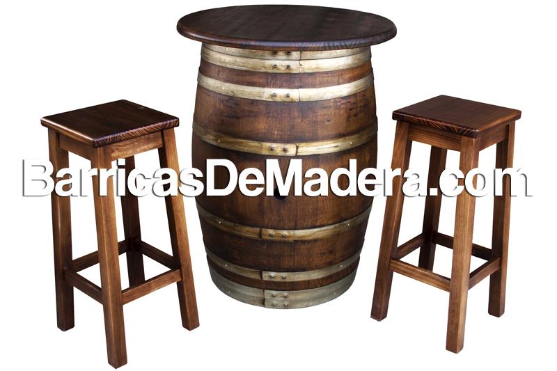 Barriles De Madera Reciclaje Y