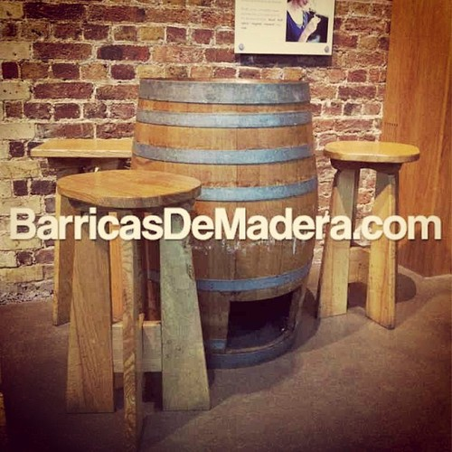 barrica mesa taburetes tonel banqueta ideas decoracion Ideas de decoración con barricas