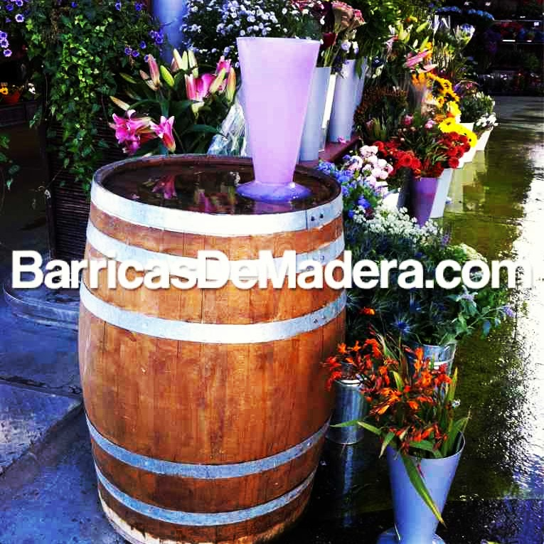 barricas usadas decoracion toneles jardin Ideas de decoración con barricas