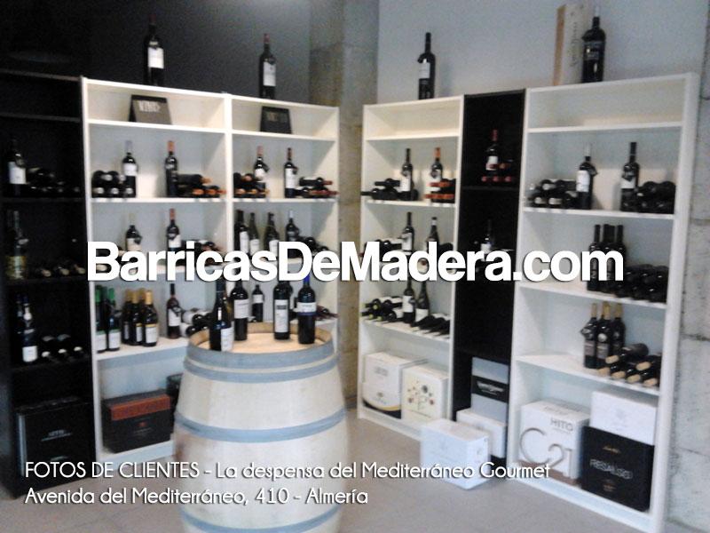FOTOS DE BARRICAS DE CLIENTES LA DESPENSA DEL MEDITERRÁNEO GOURMET ALMERÍA Barrica en tienda gourmet   Fotos de clientes
