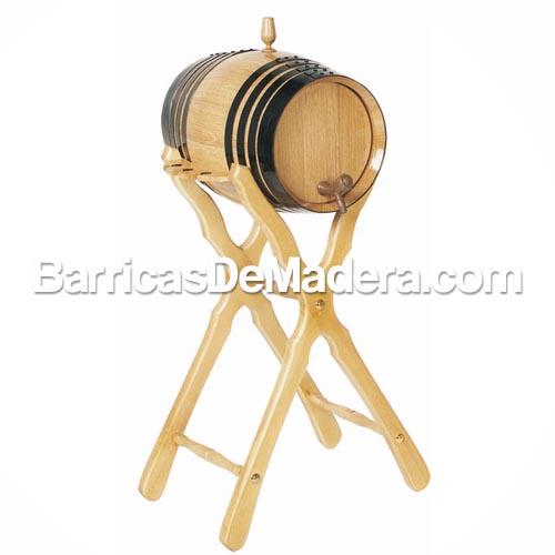 barril con pie alto copero barricas de madera Barricas nuevas