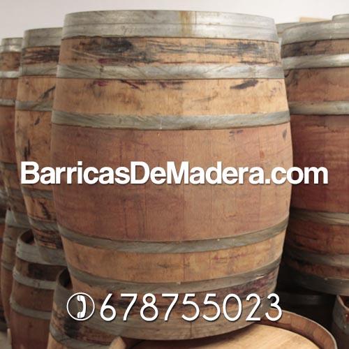 barricas 225 litros vino decoracion bar terrazas Barricas usadas de 225 y 228 litros