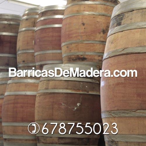 mobilario hosteleria barriles toneles roble madera Barricas usadas de 225 y 228 litros