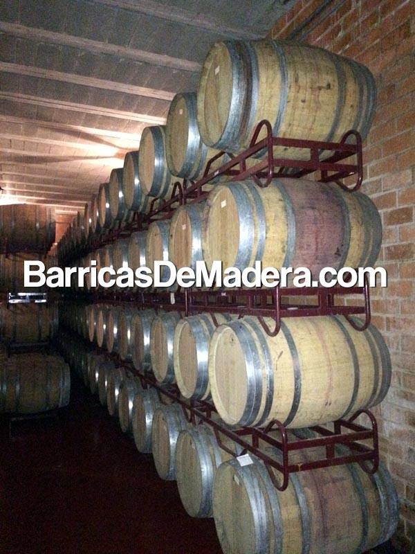 used wine casks spain