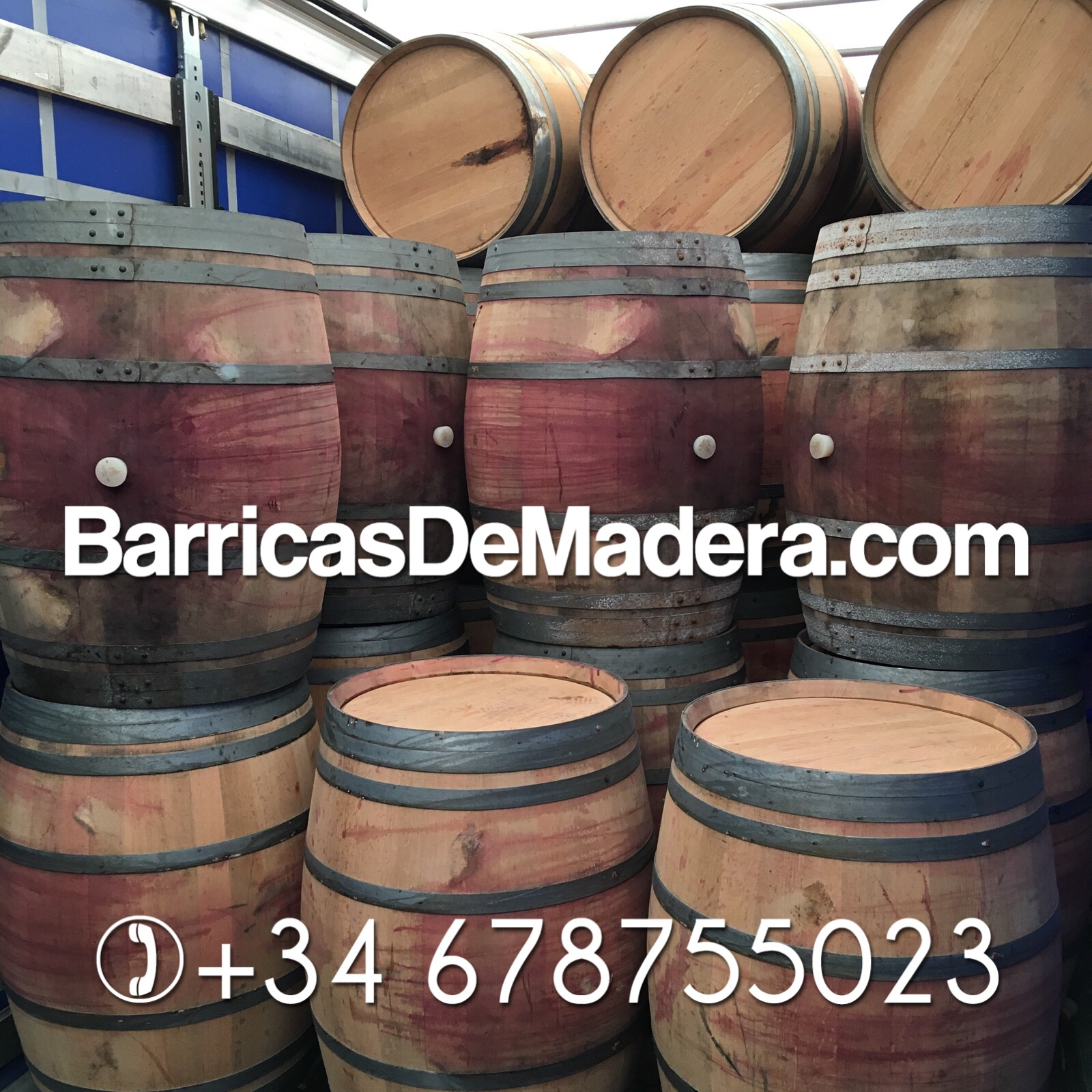 used barrels 300 liter red wine