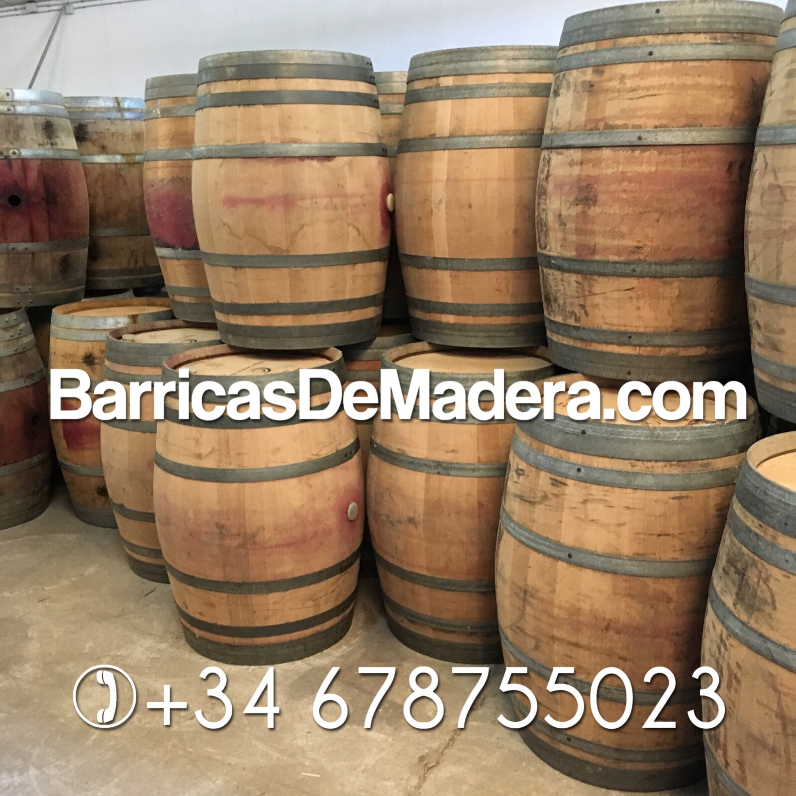 wholesale wine barrels spain